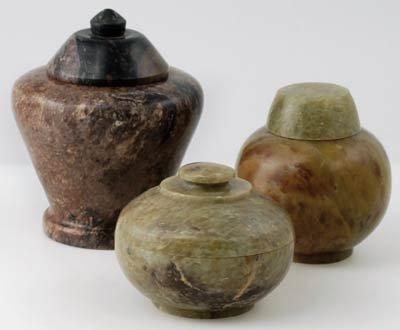 set 3 Gini Jars soapstone product image