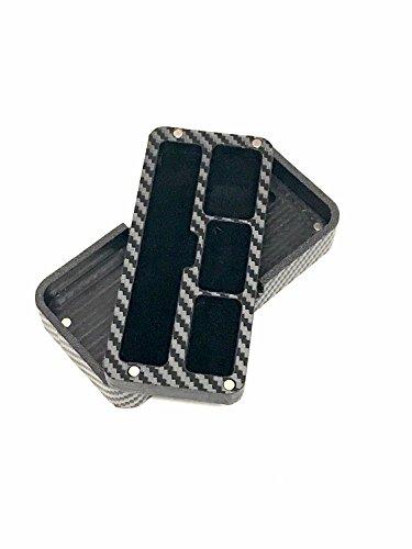 JUUL travel case Black Carbon Fiber Wrapped by Jwraps by Jwraps (Image #2)