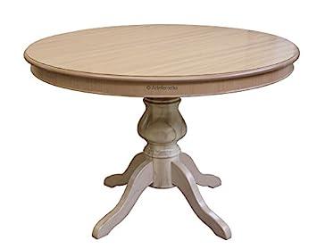Arteferretto Table Ronde Pour Salle à Manger Diamètre 120 Cm Avec