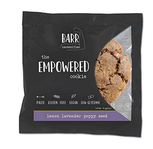 Lemon Lavender Poppyseed, 12 Pk Gluten Free Cookie, Paleo Cookie, Vegan Cookie, The Empowered Cookie