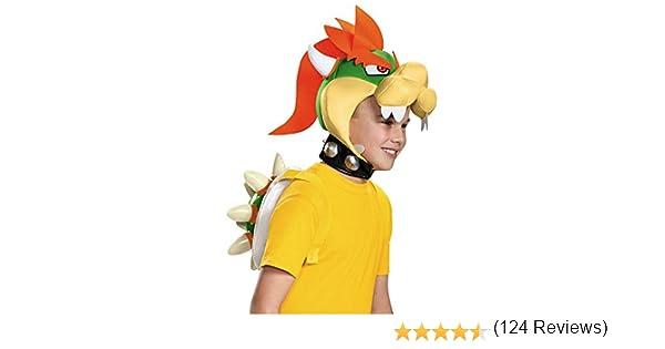 Super Mario 13388 – Carnaval Disfraz Set de Bowser, amarillo ...