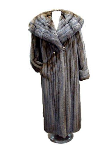 Sable Fur Coat (Oliverfurs Canadian Sable Fur Coat For Woman Women Size All)