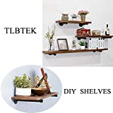 TLBTEK 4 pcs 12inch Rustic Pipe Decor Industrial