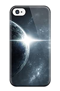For Iphone 4/4s Protector Case Planet Sci Fi People Sci Fi Phone Cover