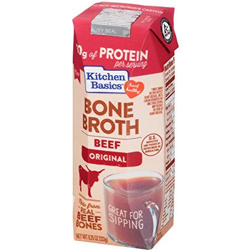 Kitchen Basics Original Beef Bone Broth, 8.25 fl oz (Grass Fed Beef Roast)