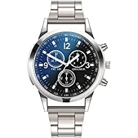 Dress Watch For Men Analog Stainless Steel - 15