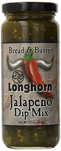 Longhorn Bread and Butter Jalapeno Dip Mix, 12.5 Ounce