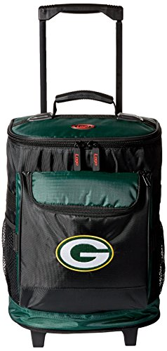 Green Bay Packers 48-Can Rolling Cooler with Wheels and Backpack (Wheel Bay)