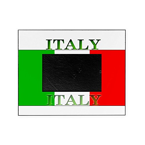 CafePress - Italyblack.Png - Decorative 8x10 Picture Frame (Flag 2006 T-shirt Cup World)