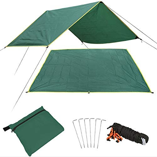 Waterproof Rain Fly Tent High Quality For Canopy Hammock Camping Tarp Sun Shade