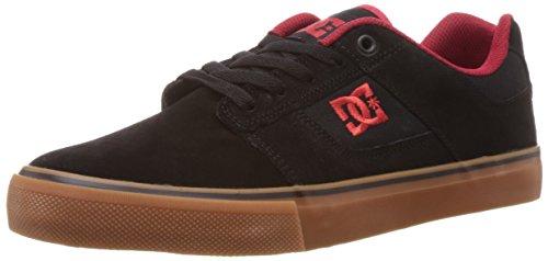 Men's Bridge Skate Shoe,Black/Red/Red,11 M US