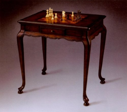 Plantation Cherry Game Table With Game Board Inset