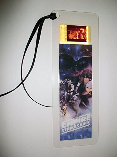 STAR WARS EMPIRE STRIKES BACK Movie Film Cell Bookmark memorabilia Compliments poster dvd book
