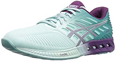 ASICS Women's Fuzex Running Shoe, Soothing Sea/Phlox/Kingfisher, 5 M US