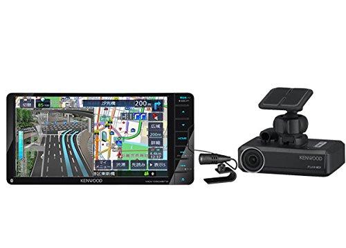 ケンウッド7型200mmワイドDVD再生4倍速CD録音Bluetooth地デジSD彩速ナビMDV-D504BTW+専用ドライブレコーダーDRV-N530セット B071ZJ2QVP