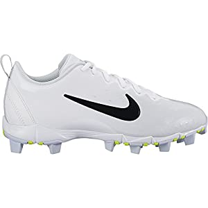 Nike Women's Hyperdiamond 2 Keystone Softball Cleat White/Black/Pure Platinum Size 10 M US