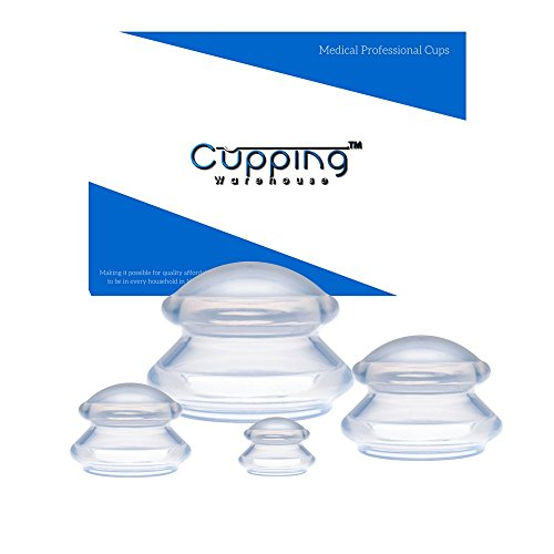 Principal 4 Online Videos Massage Cupping Professional Medical Silicone Cupping Therapy Set by Cupping Warehouse.Cellulite,Weightloss Shaping,Lymph Drainage, Myofascial Rescuing,Trigger Point, Muscle Spasm