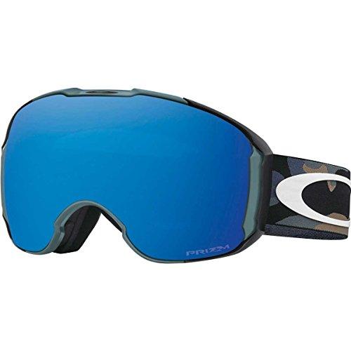 Oakley Men's Airbrake XL (A) Snow Goggles, Blue Shade, Prizm Sapphire Iridium/Prizm Hi Pink, - Goggle Shades Ski