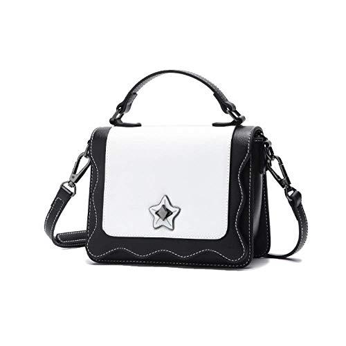 Carré Décontracté Black Yxpnu Petit Élégant Mode Femme Coréenne Simple Sac Version n8XOq