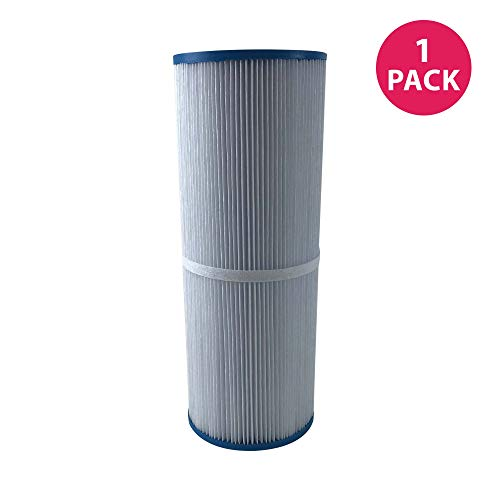 (Think Crucial 1 Replacement for Unicel Pool Filter Fits C-4326, Pleatco PRB25-IN, Filbur FC-2375 & Rainbow Dynamic 25, Fits Multiple Pools & Spas )