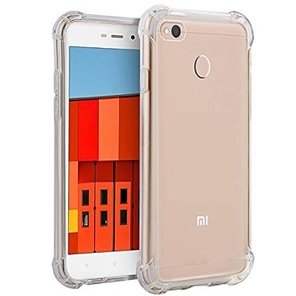 super popular 58e2f 2dc88 Parallel Universe Xiaomi Redmi 3S Prime Back Cover Case Shock Absorbing TPU  - Transparent