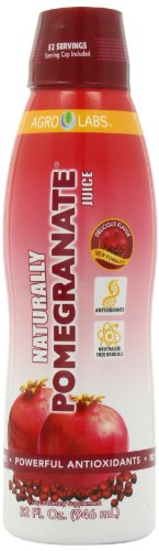Agro Labs Naturally Pomegranate, 32-Fluid Ounce Bottle