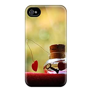Durable Love Potion Back Case/cover For Iphone 4/4s