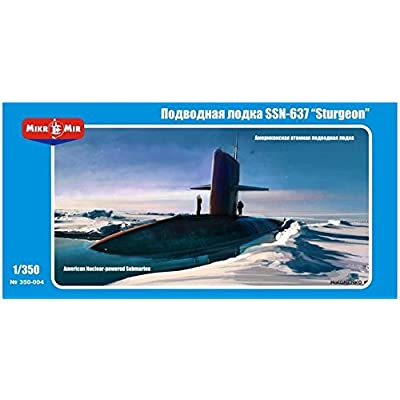 SSN-637 Sturgeon U.S. Submarine MM350-004: Toys & Games