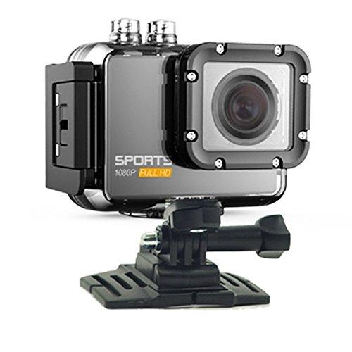 Bazaar 1080P Außen HD Sport Kamera WiFi Mini Tätigkeits Kamerarecorder Videokamera Wasserdicht