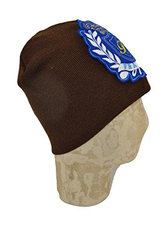 punto Marrón única marrón de Morello Talla para hombre Frankie Gorro taxHZFnqw
