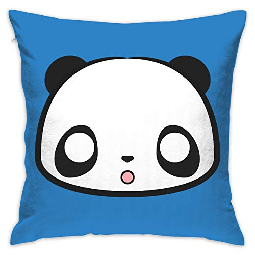 Karen Felix Throw Pillow Covers Cute Panda Decorative