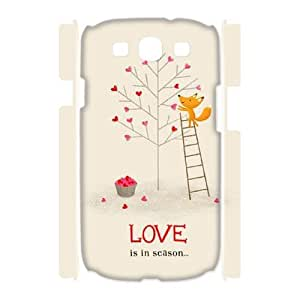 Winfors Happy Valentine's Day Phone 3D Case For Samsung Galaxy S3 I9300 [Pattern-3]