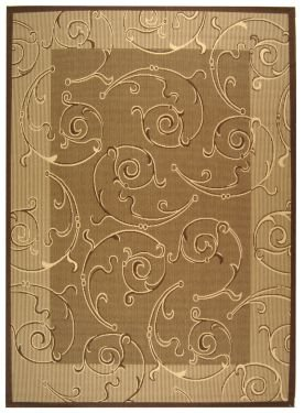 Cy2665 Courtyard Natural - Safavieh Courtyard Rug CY2665 Brown Natural 3ft x 5ft
