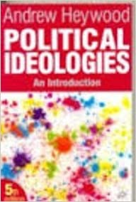 Book Political Ideologies 5e Ind ed by Heywood (2012-07-30)