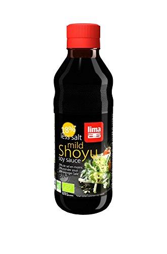 Lima Shoyu 28% Less Salt, 250 ml, 1 Units