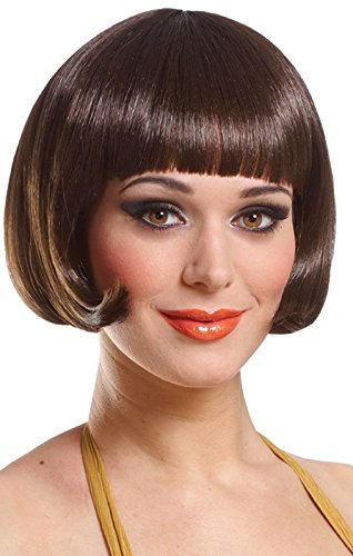Deluxe Brown Sassy Wig (Sassy Wigs)
