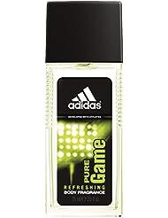 Adidas Fragrance Body Fragrance, Pure Game, 2.5 Fluid Ounce