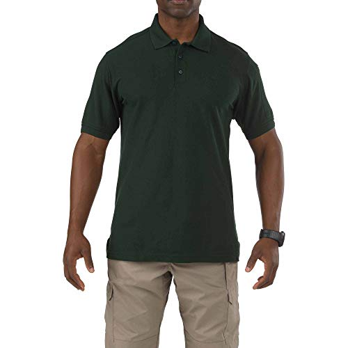 5.11 Tactical Short-Sleeve Utility Polo LE Green - Short Utility Shirt Sleeve