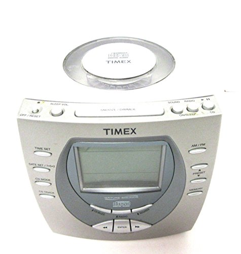 Timex CD Player Alarm Clock Nature Sounds