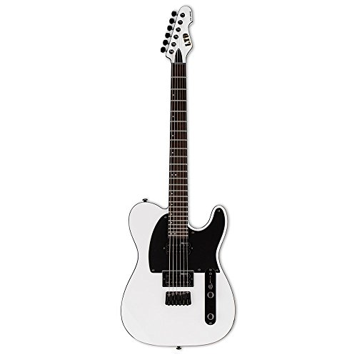 ESP LTE200RSW Solid-Body Electric Guitar, Snow White