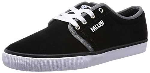 Fallen Forte 2 Skate Shoe,Black/White/Grey,8 M US