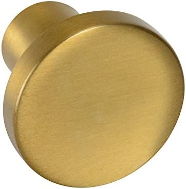 #8100 CKP Brand 30mm Knob, Amber Gold - 10 Pack