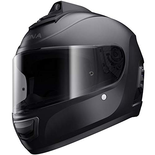 Sena-Momentum-Pro-Bluetooth-wIntegrated-QHD-Camera-Helmet-Matte-Black-XXL