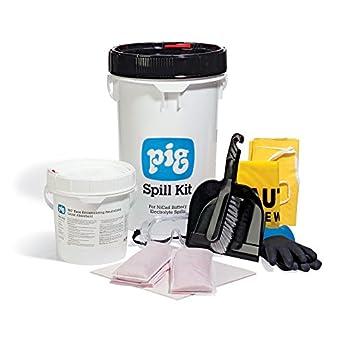 New Pig Nicad Battery Neutralizing Spill Kit In Bucket 3