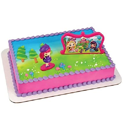 Amazon.com: Little Charmers Hazel & Friends Cake Decorating Set ...