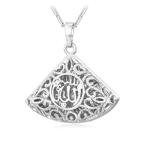 Islamic Jewelry Triangle Pendant Necklace