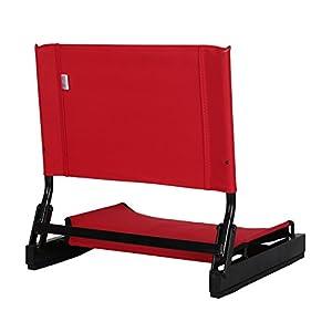 Ulax Furniture Stadium Bleacher Chair Seat (Red) by Ulax Furniture
