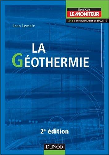 Livres La géothermie - 2e éd. pdf ebook