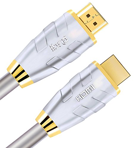 HDMI Cable6ft-HDMI 2.0(4K@60Hz)-18Gbps+ -28AWG Advanced Braided Cord-Gold Plated Connectors-Ethernet,Audio Return Video 4K2160p HD1080p3D Xbox PlayStation PS3 PS4 AppleTV-IBRA Advance(Updated Version) by IBRAÂ