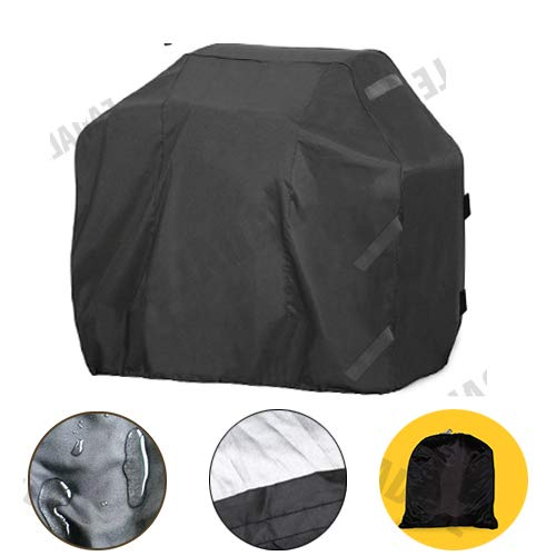 "RockyMRanger 58 Inch BBQ Cover Universal Electric Gas Barbecue Grill Water Resistant Protection YQ5YB (58""Wx24""Dx46""H YQ5YB)"